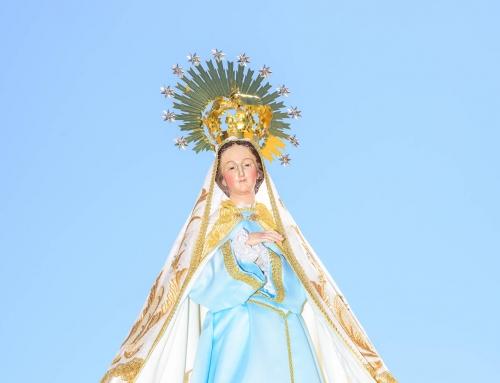 Virgen de la Soledad – Procesión del Encuentro(2015) Laguna de Negrillos.