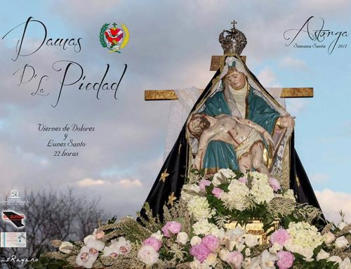 Cartel Cofradía Damas de La Virgen de La Piedad
